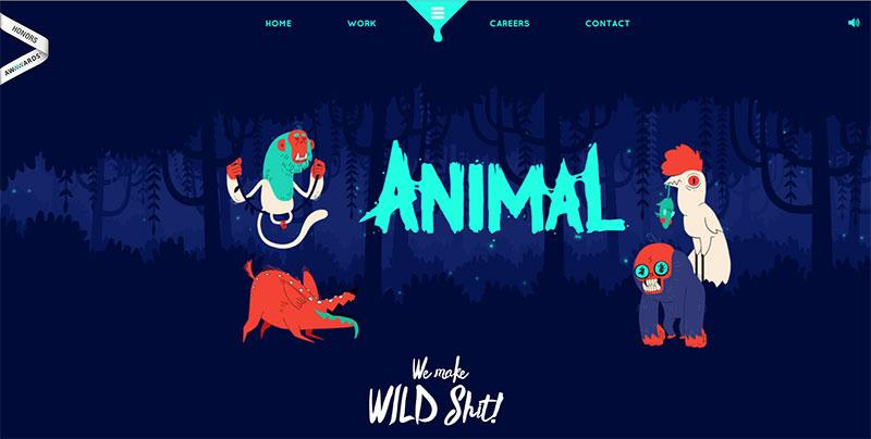 Webdesign Animal