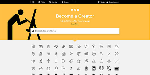 Icônes Noun-project