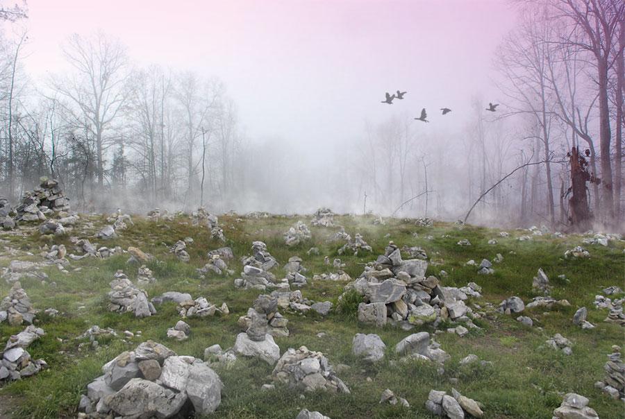 Photomontage paysage