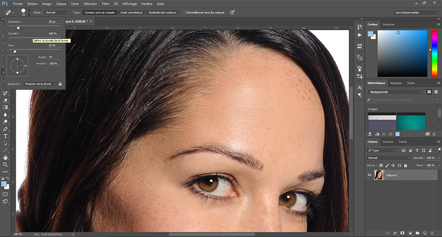 Pinceau Photoshop
