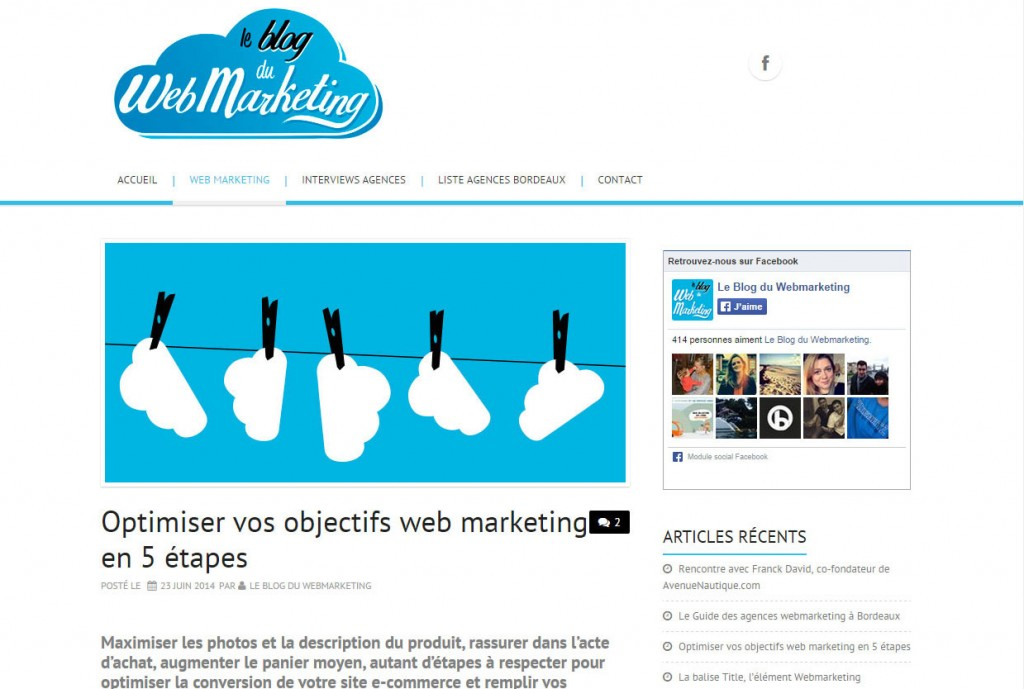 blog du webmarketing
