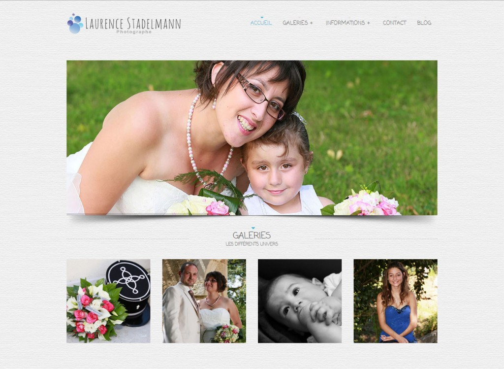 Site Internet de Laurence Stadelmann