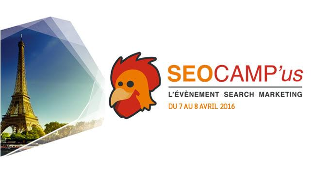 SEO campus Paris 2016