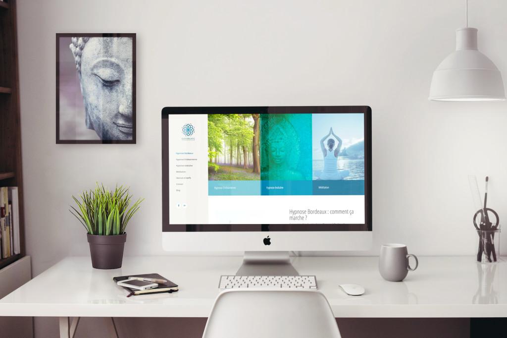 Création du site internet Hypnose Bordeaux